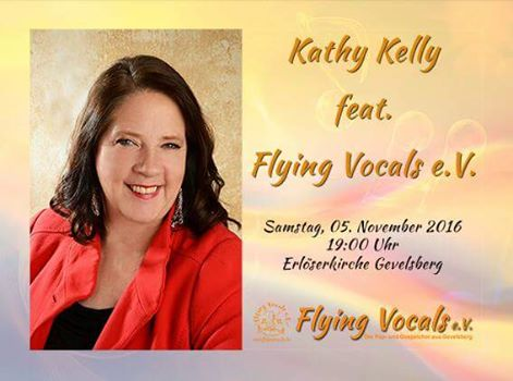Konzert Kathy Kelly feat. Flying Vocals