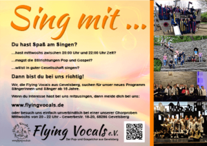 Sing mit... Flying Vocals Gevelsberg
