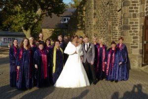 Flying Vocals - Hochzeit Trinitatis Kirche, Witten