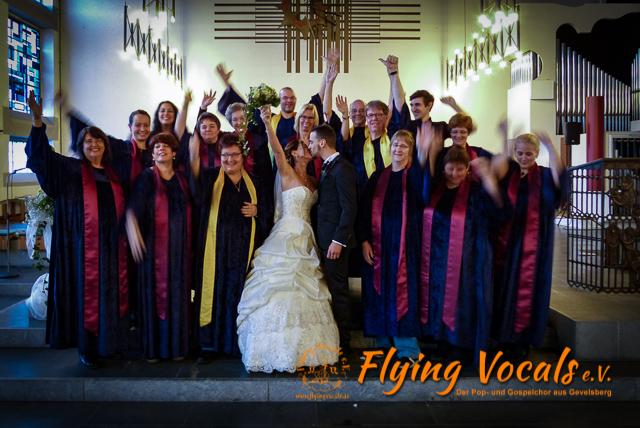 Hochzeit Angelo und Angela, Herz-Jesu-Kirche Ennepetal, Flying Vocals e.V.